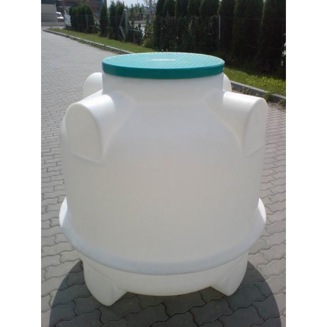 1 m3-es föld alatti műanyag tartály (Termékkód: HDTRA1000)