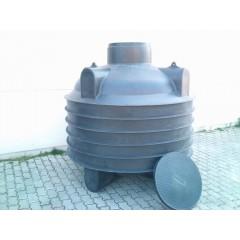3 m3-es műanyag esővízgyűjtő tartály (Termékkód: HDTRA3000)