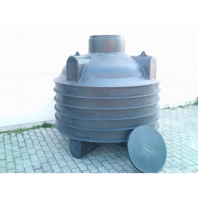 3 m3-es műanyag ciszterna (Termékkód: HDTRA3000)