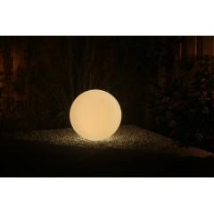 Kerti LED lámpa színváltós gömb alakú 50