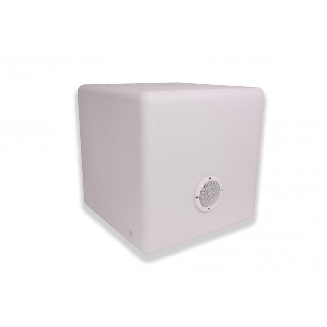 Kerti LED lámpa színváltós kocka alakú zenélő 40