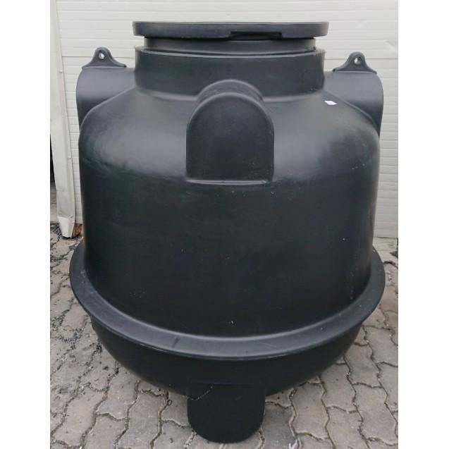 1 m3-es műanyag szennyvíz tartály (Termékkód: HDTRA1000)